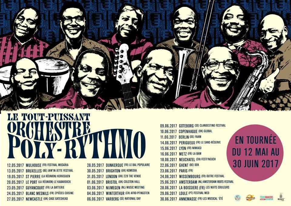 dates 2017 tournée polyrythmo