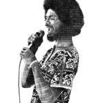 Gil Scott Heron, un dessin de Marie Casaÿs pour L'Escamoteur