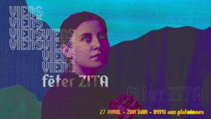 ZITA Luce Terrasson pour L'Escamoteur et sa Sainte Zita