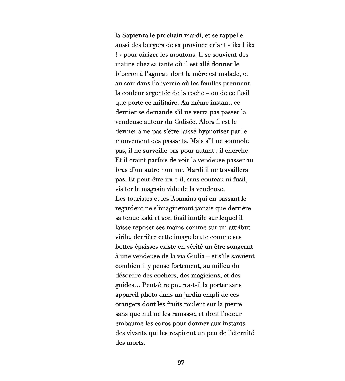 Rome par Louis Mallié pour L'Escamoteur. Illustration de Mélisande Girard