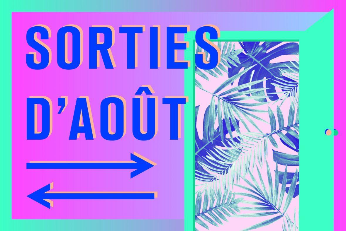Visuel de Marion Piauley pour les sorties d'août de L'Escamoteur