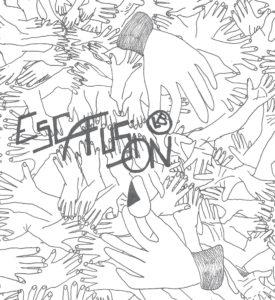 Escafusion, par Julie & Nils Savoye pour L'Escamoteur, édité par Les Bourlingueurs