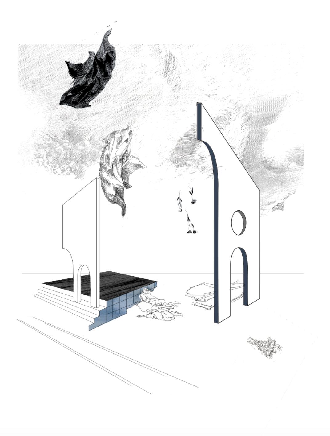 104 par Luce Terrasson pour une histoire de Pierre-Yves Liberatore chez L'Escamoteur