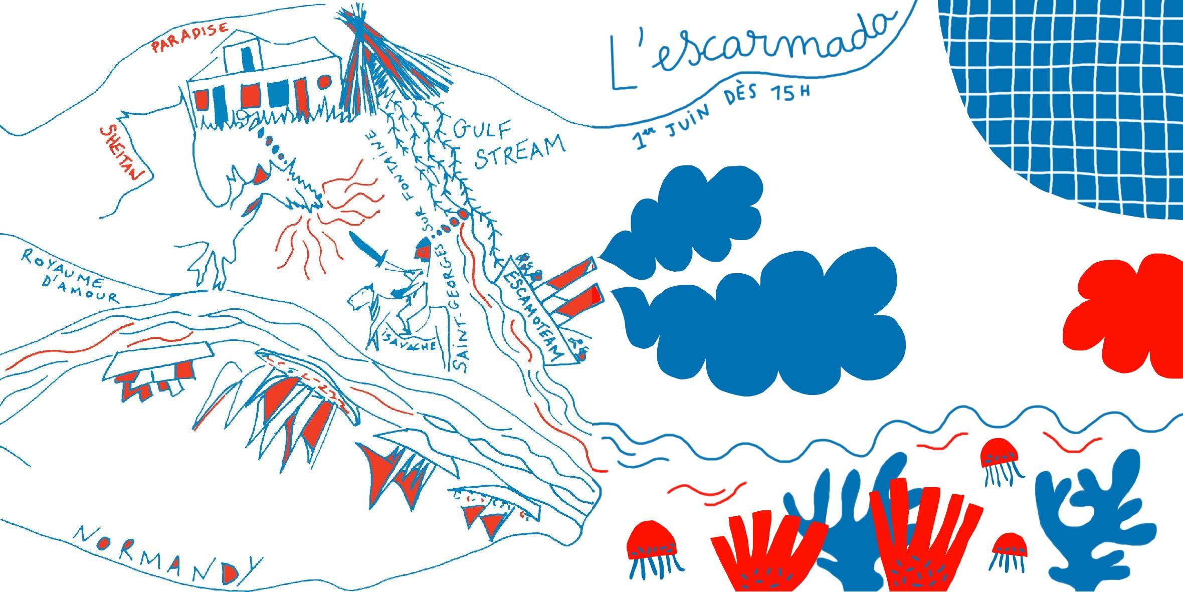 Escarmada #4 Par Julie Savoye & Marion Piauley pour L'Escamoteur