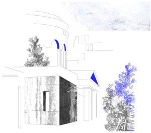 Rotonde de Stalingrad dessinée par Luce Terrasson pour L'Escamoteur