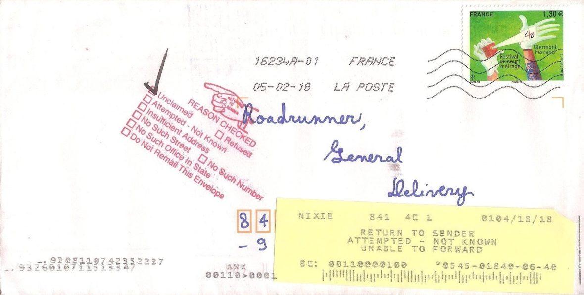 lettre à bip bip par Rémy Lou