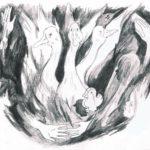 Jeu, un dessin de Marguerite Kalt et Margot Sounack