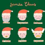 SantaClaus, Noël par Marion Piauley pour une playlist de L'Escamoteur