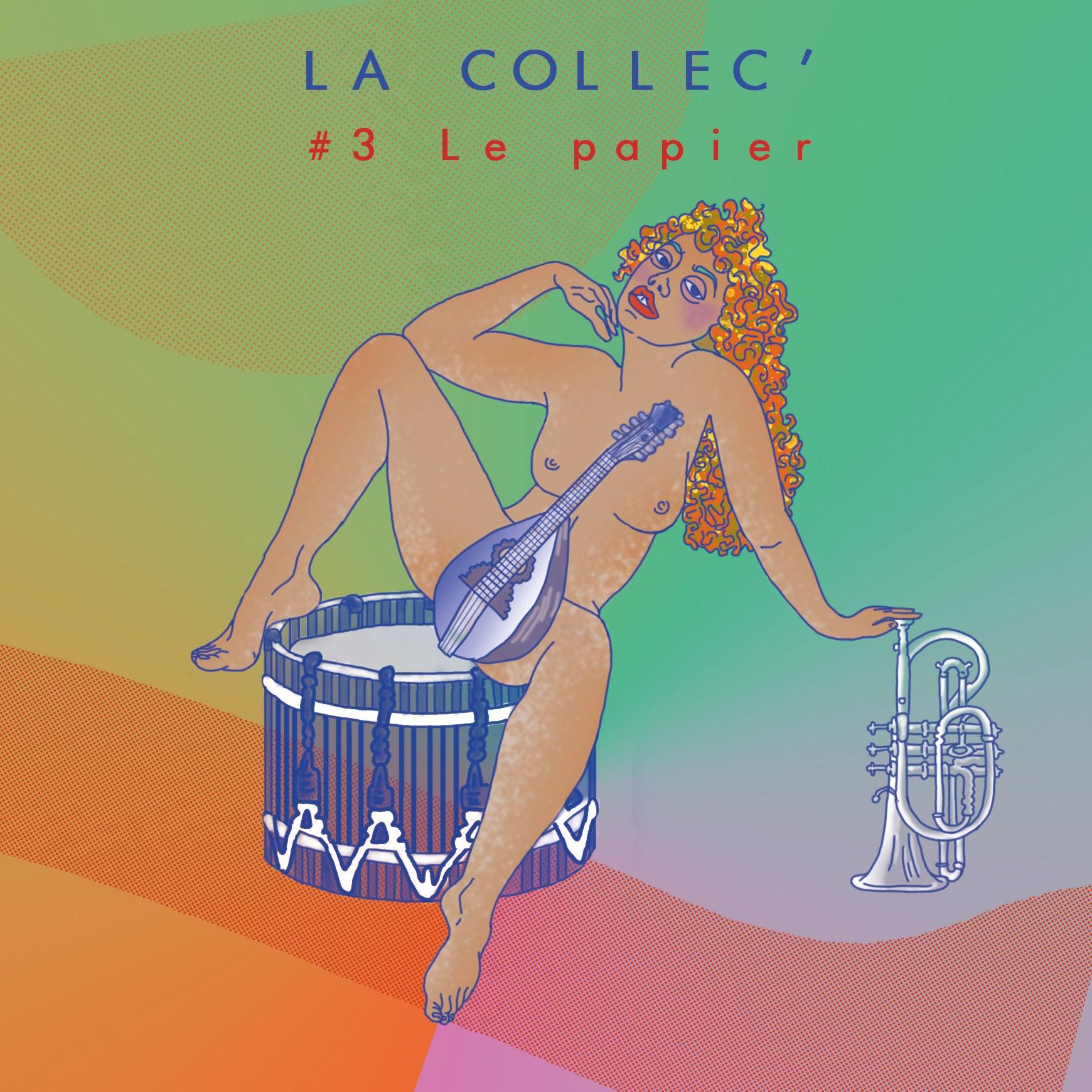 La Collec' S0203 - La Papier, visuel de Cannelle Mekki