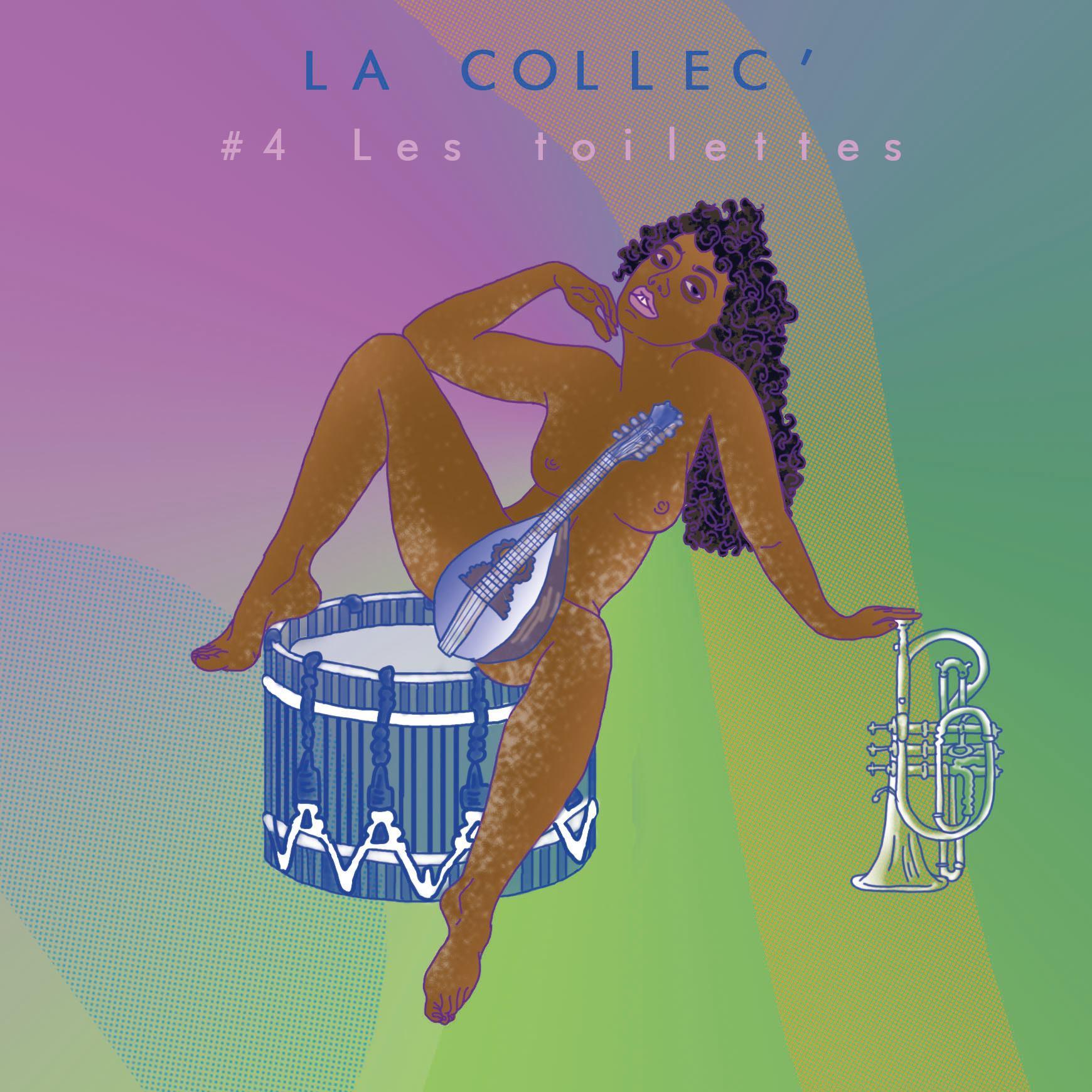 La Collec' S0204 - Les Toilettes - Visuel de Cannelle Mekki