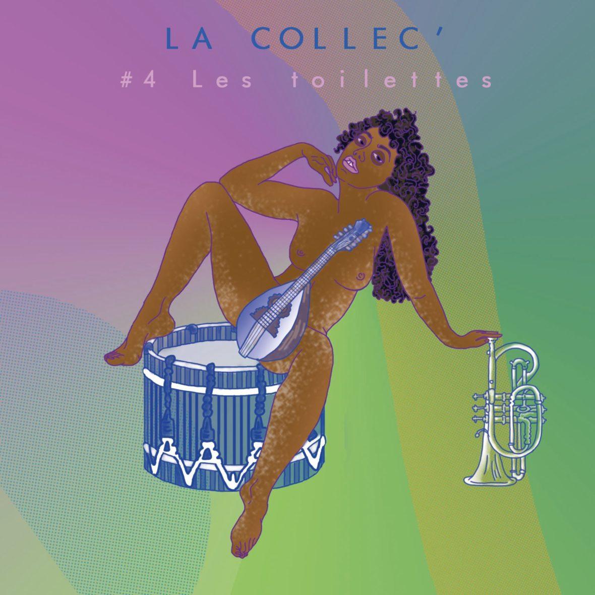 Podcast La Collec' S0204 - Les Toilettes - Visuel de Cannelle Mekki