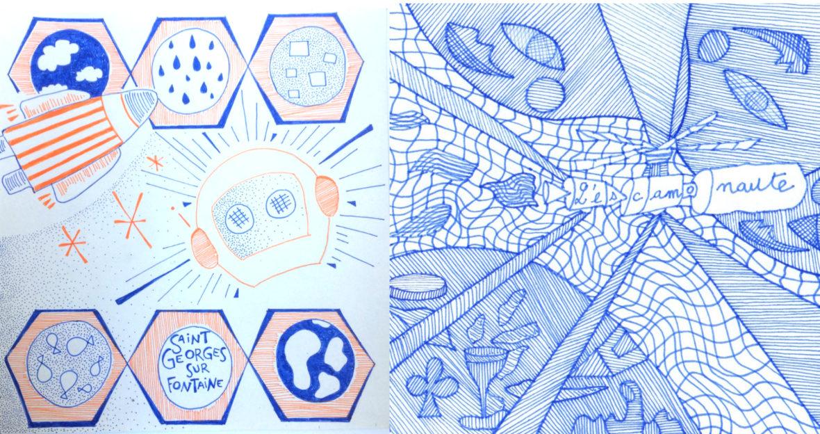 Bleue comme une orange par Julie Savoye et Marion Bonneau