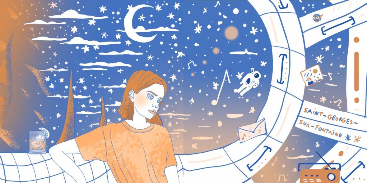 Sun Ra par Cannelle Mekki et Mélisande Girard