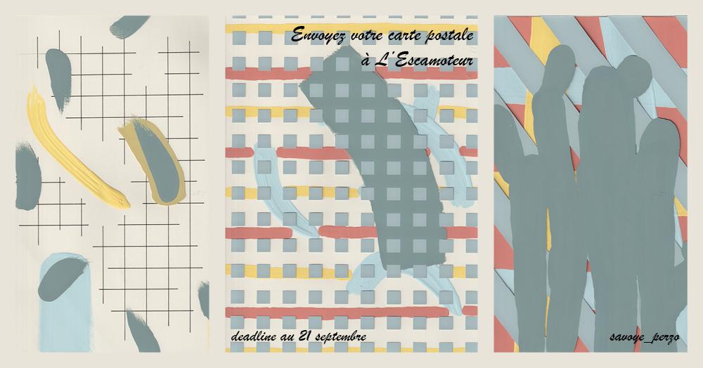 Envoyez votre carte postale à L'Escamoteur