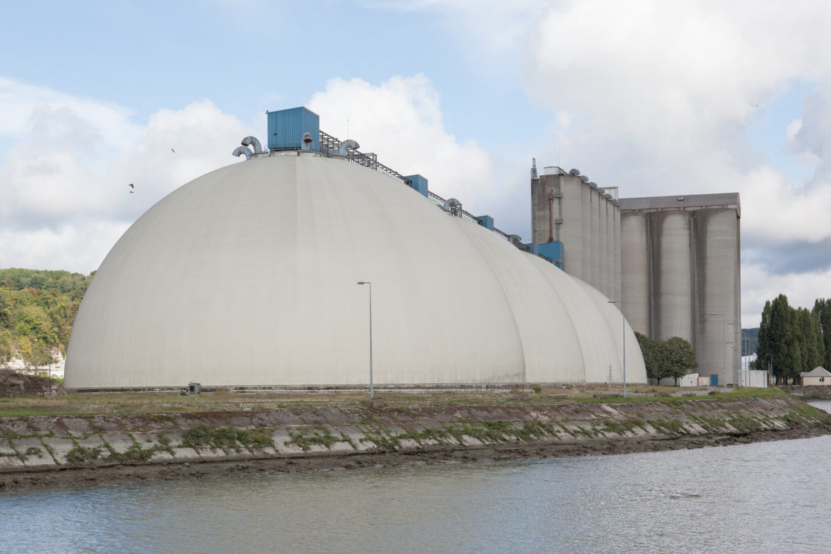 ARN Un silo dans le port de Rouen - Nelly Monnier et Eric Tabuchi