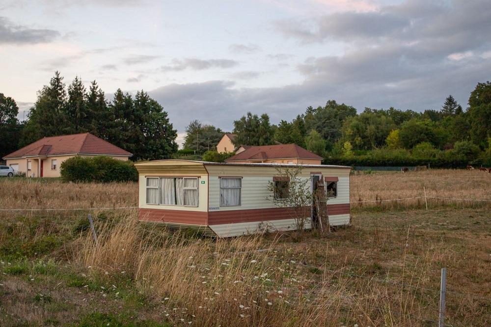 Le mobile-home de La Souterraine par Nelly Monnier et Eric Tabuchi