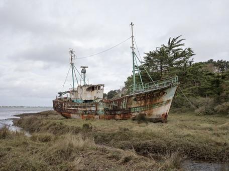 Un petit navire en Trégor par Nelly Dubner et Eric Tabuchi